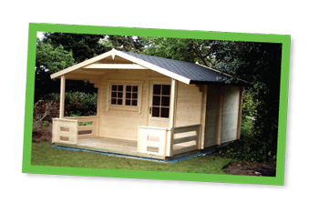 MJH Carpentry - Timber Summer House